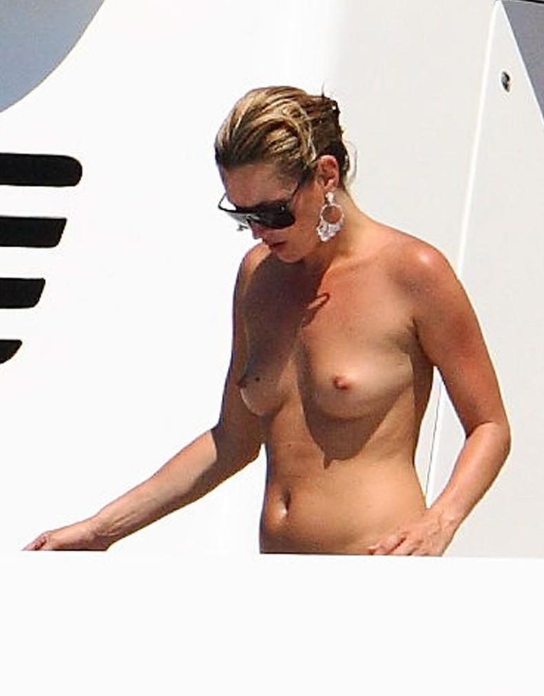 Kate Moss ohne Bikini