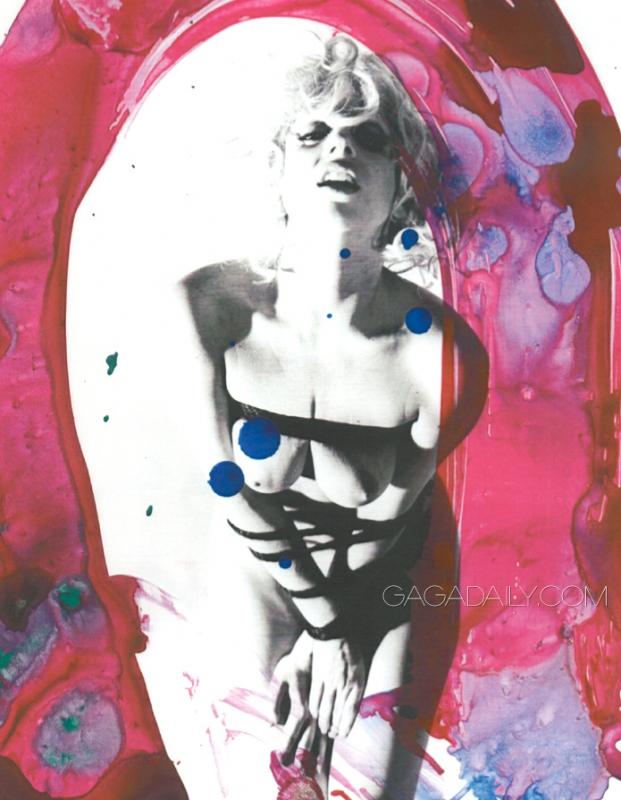 Lady Gaga Nacktbild